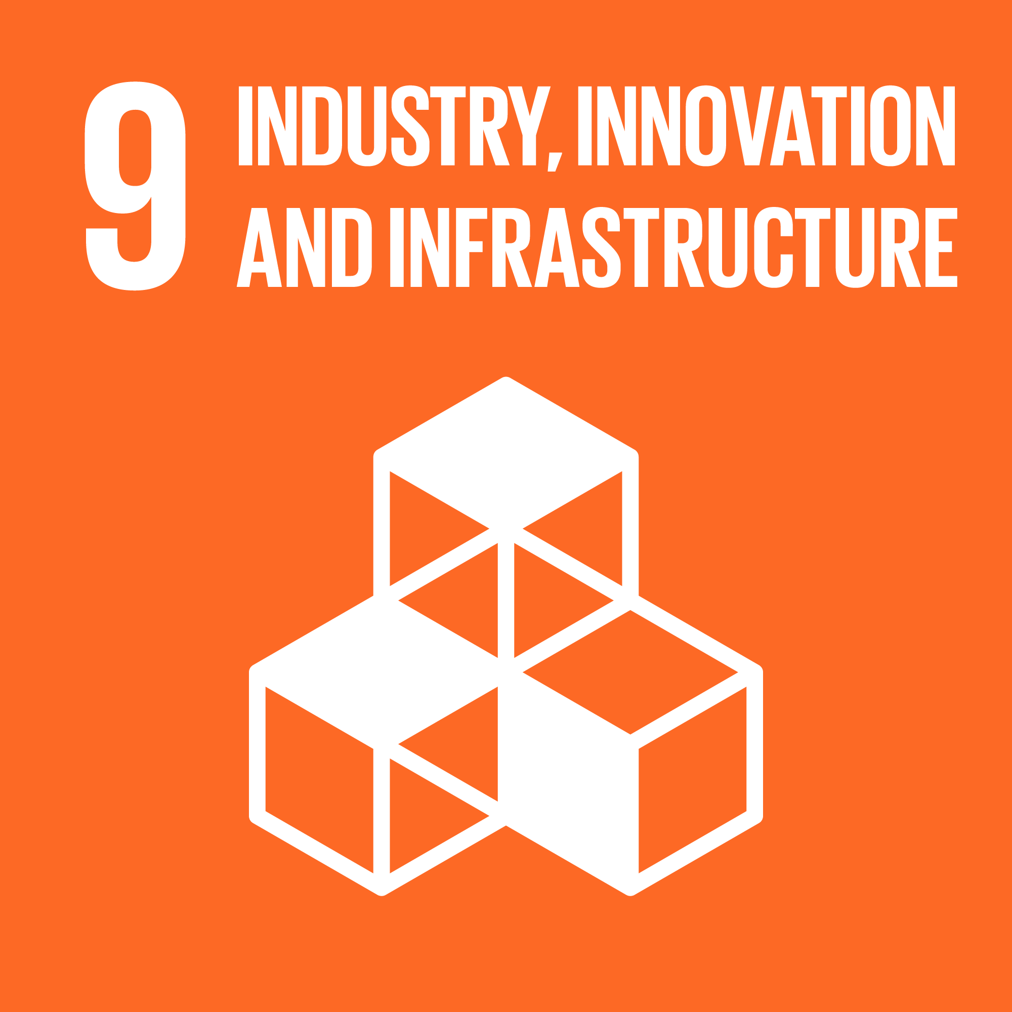 Agenda 2030 goal number 9: Industry, innovation, and infrastructure
