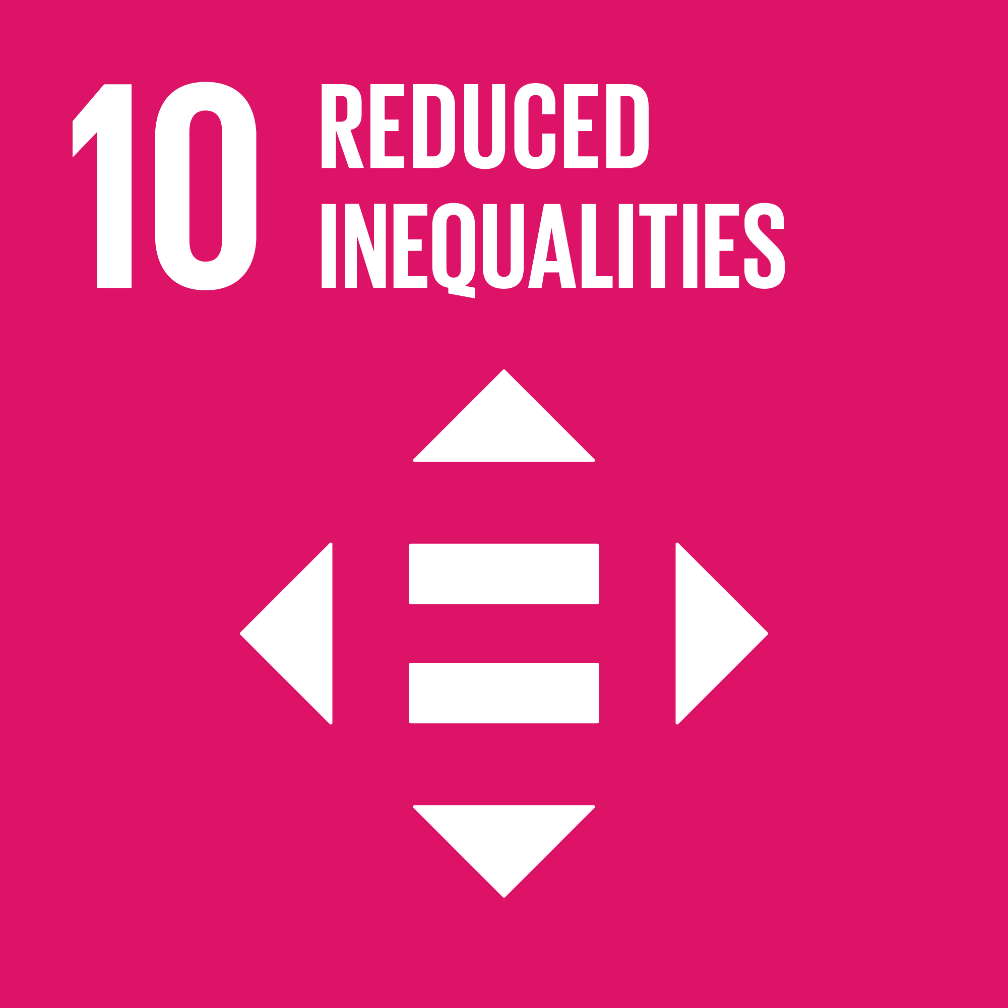 Agenda 2030 goal number 10: reduced inequalities